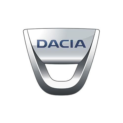 Redukční rámečky pro vozy Dacia