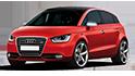 Redukční rámečky k autorádiím pro Audi A2