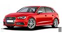 Redukční rámečky k autorádiím pro Audi A3