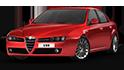 Redukční rámečky k autorádiím pro Alfa Romeo 159
