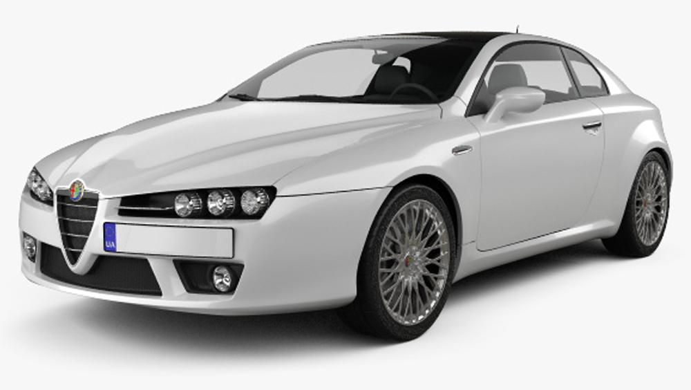 Redukční rámečky k autorádiím pro Alfa Romeo Brera