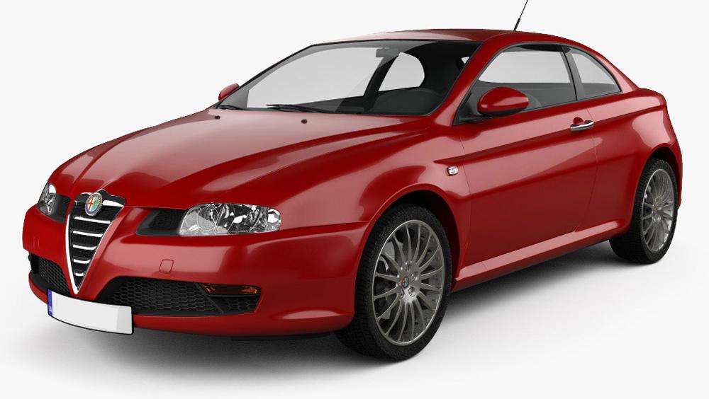 Redukční rámečky k autorádiím pro Alfa Romeo GT