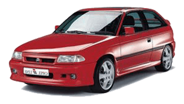 Mdf podložky pod reproduktory do Opel Astra F