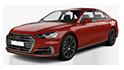 Redukční rámečky k autorádiím pro Audi A8