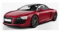 Repro podložky MDF pro vozy Audi R8
