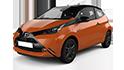 Redukční rámečky k autorádiím pro Toyota Aygo II