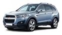 Redukční rámečky k autorádiím pro Chevrolet Captiva I