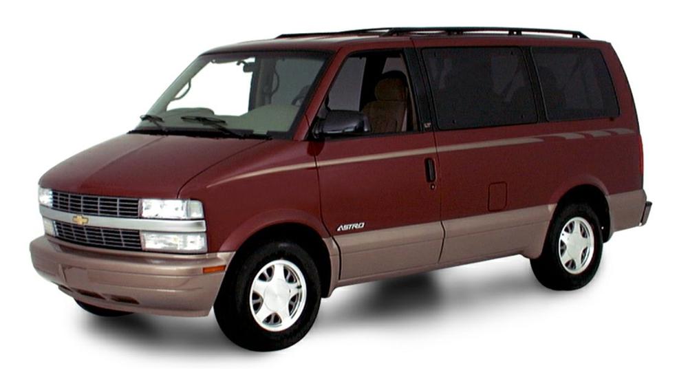 Redukční rámečky k autorádiím pro Chevrolet Astro Van
