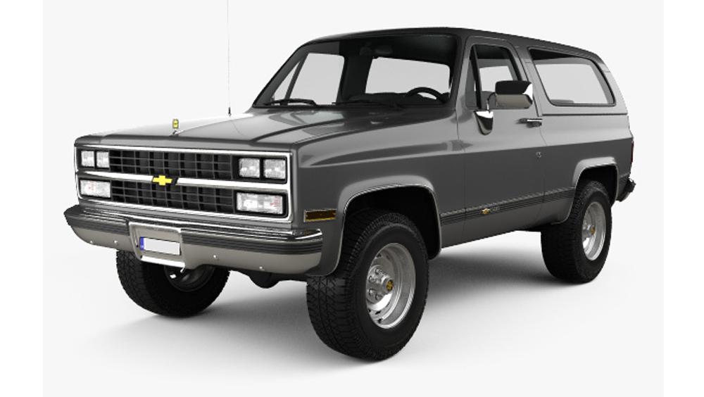 Redukční rámečky k autorádiím pro Chevrolet Blazer