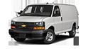 Redukční rámečky k autorádiím pro Chevrolet Express Van