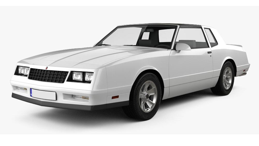 Redukční rámečky k autorádiím pro Chevrolet Monte Carlo