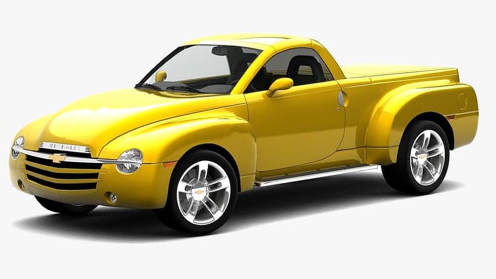 Redukční rámečky k autorádiím pro Chevrolet SSR