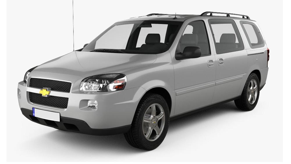 Redukční rámečky k autorádiím pro Chevrolet Uplander