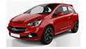 Redukční rámečky k autorádiím pro Opel Corsa E