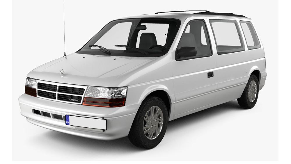 Adaptéry pro ovládání na volantu Dodge Caravan