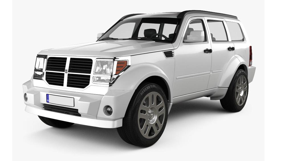 Redukční rámečky k autorádiím pro Dodge Nitro
