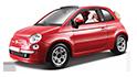 Redukční rámečky k autorádiím pro Fiat 500