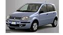 Redukční rámečky k autorádiím pro Fiat Panda II