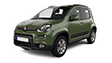 Redukční rámečky k autorádiím pro Fiat Panda III