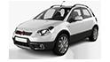 Redukční rámečky k autorádiím pro Fiat Sedici