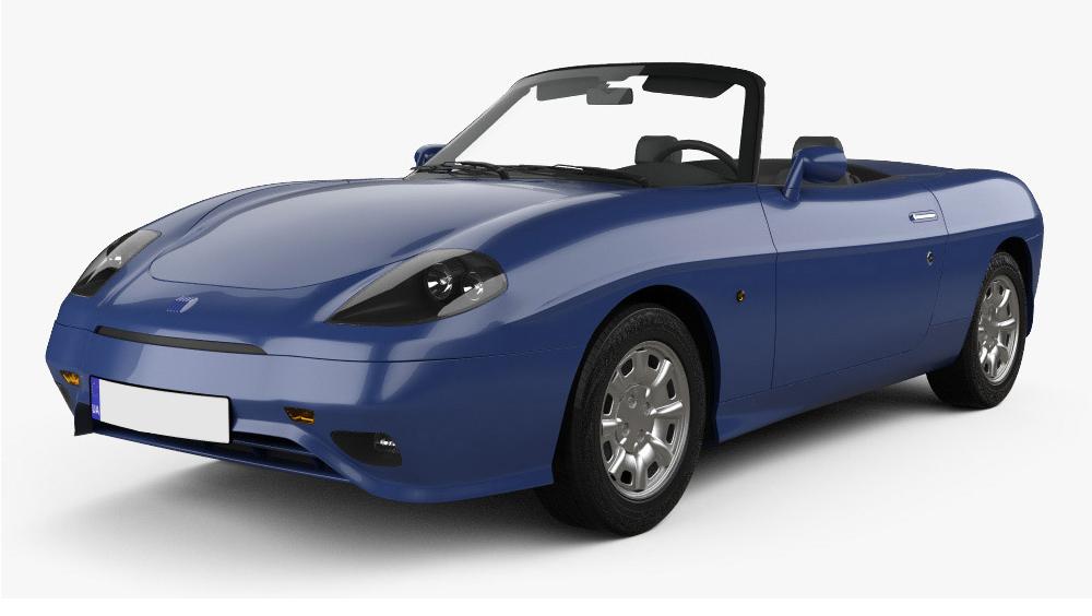 Redukční rámečky k autorádiím pro Fiat Barchetta
