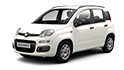 Redukční rámečky k autorádiím pro Fiat Panda