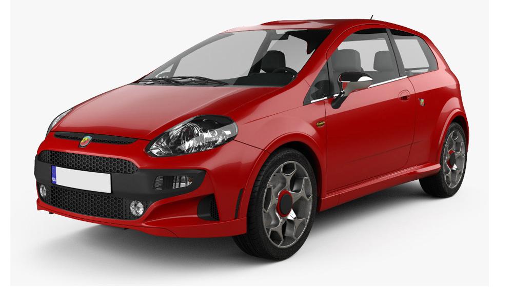 Redukční rámečky k autorádiím pro Fiat Punto Evo