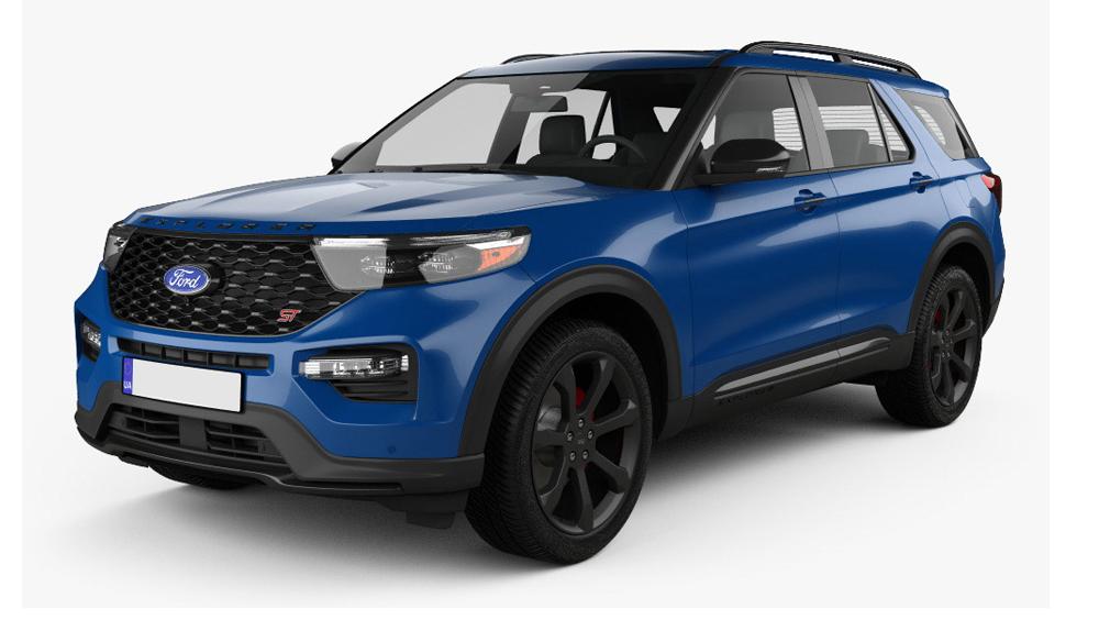Redukční rámečky k autorádiím pro Ford Explorer