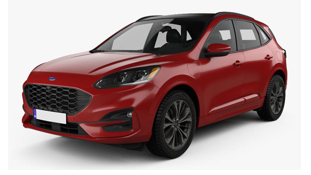 Redukční rámečky k autorádiím pro Ford Kuga II