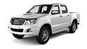 Redukční rámečky k autorádiím pro Toyota Hilux
