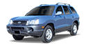 Redukční rámečky k autorádiím pro Hyundai Santa Fe I
