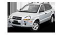Redukční rámečky k autorádiím pro Hyundai Tucson
