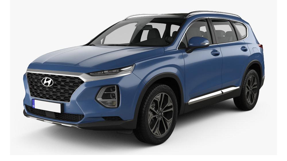 Redukční rámečky k autorádiím pro Hyundai Santa Fe IV