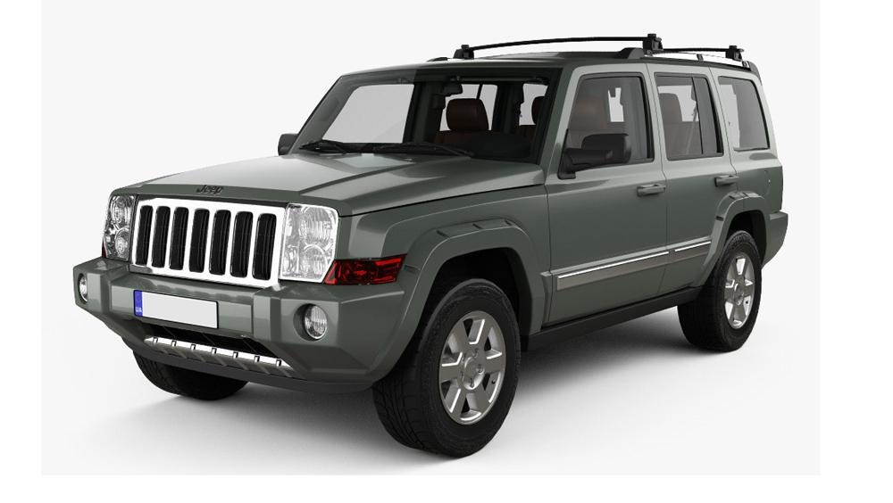 Redukční rámečky k autorádiím pro Jeep Commander
