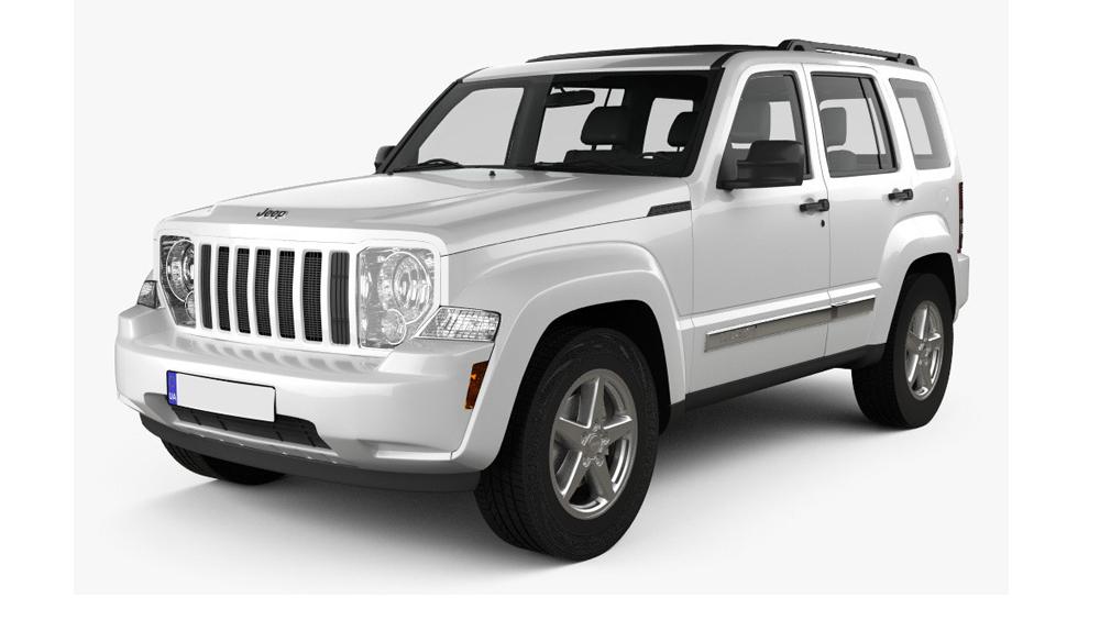 Redukční rámečky k autorádiím pro Jeep Liberty