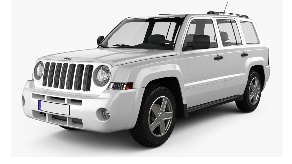 Redukční rámečky k autorádiím pro Jeep Patriot