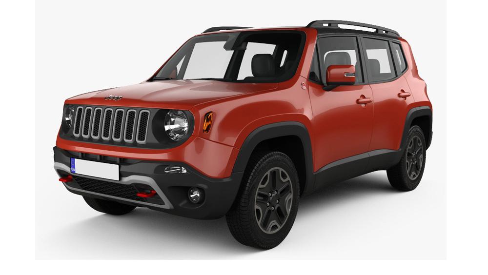 Redukční rámečky k autorádiím pro Jeep Renegade