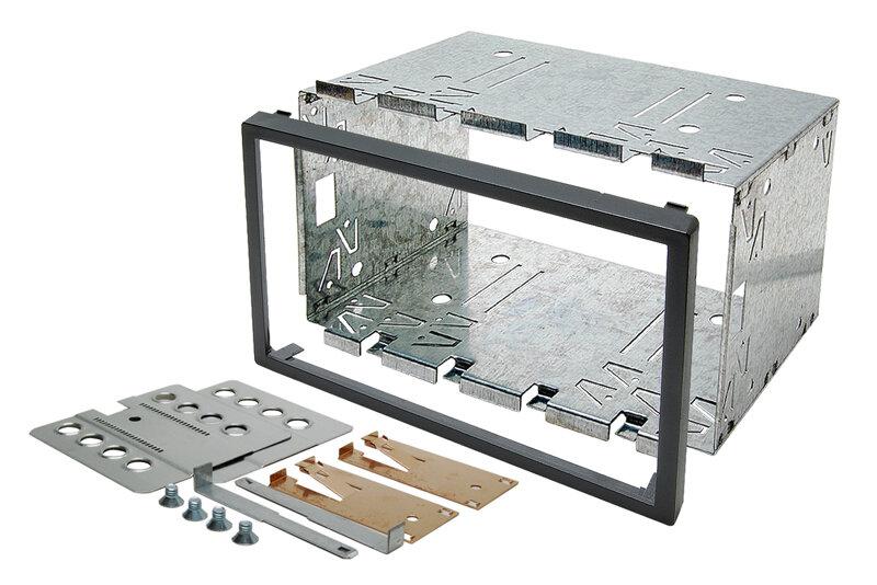 Univerzální kovové 2DIN rámečky