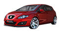 Redukční rámečky k autorádiím pro Seat Leon MK2