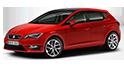 Redukční rámečky k autorádiím pro Seat Leon MK3