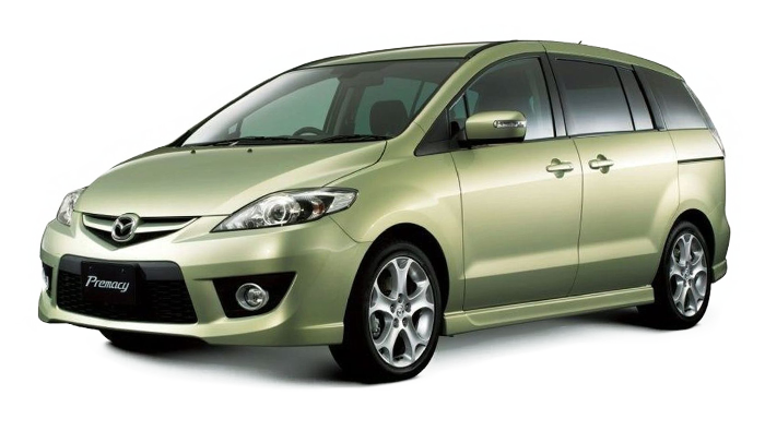 Mdf podložky pod reproduktory do Mazda Premacy