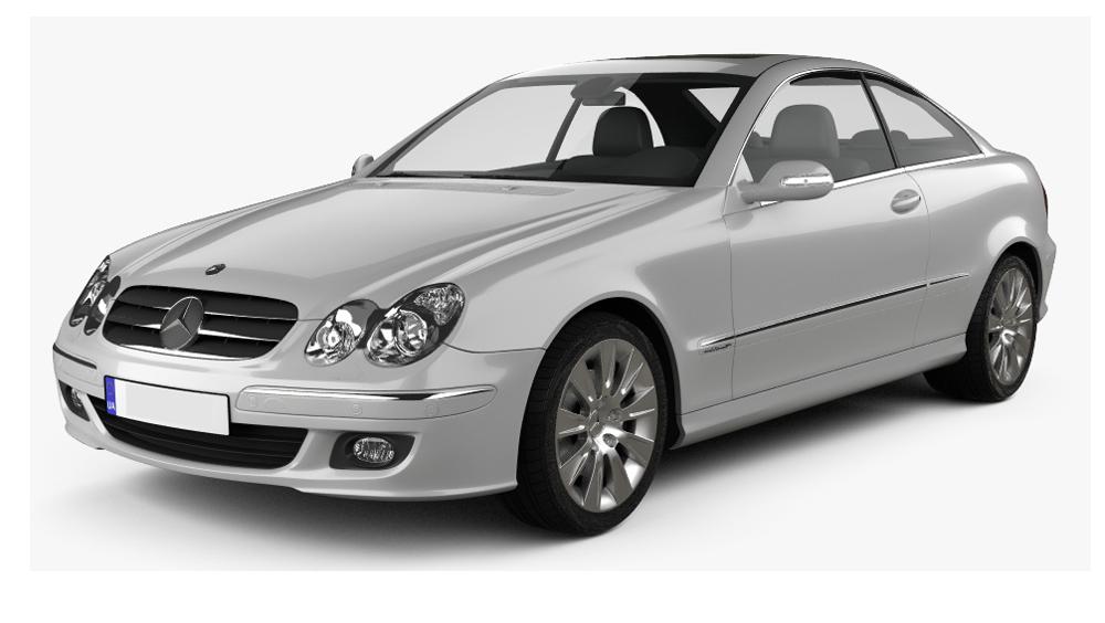 Adaptéry pro ovládání na volantu Mercedes-Benz CLK