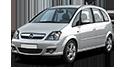 Redukční rámečky k autorádiím pro Opel Meriva A