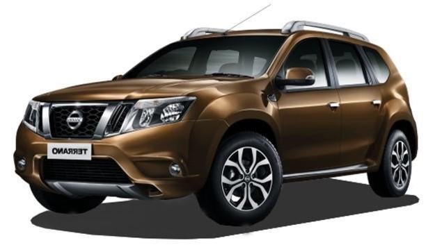 Adaptéry pro ovládání na volantu Nissan Terrano