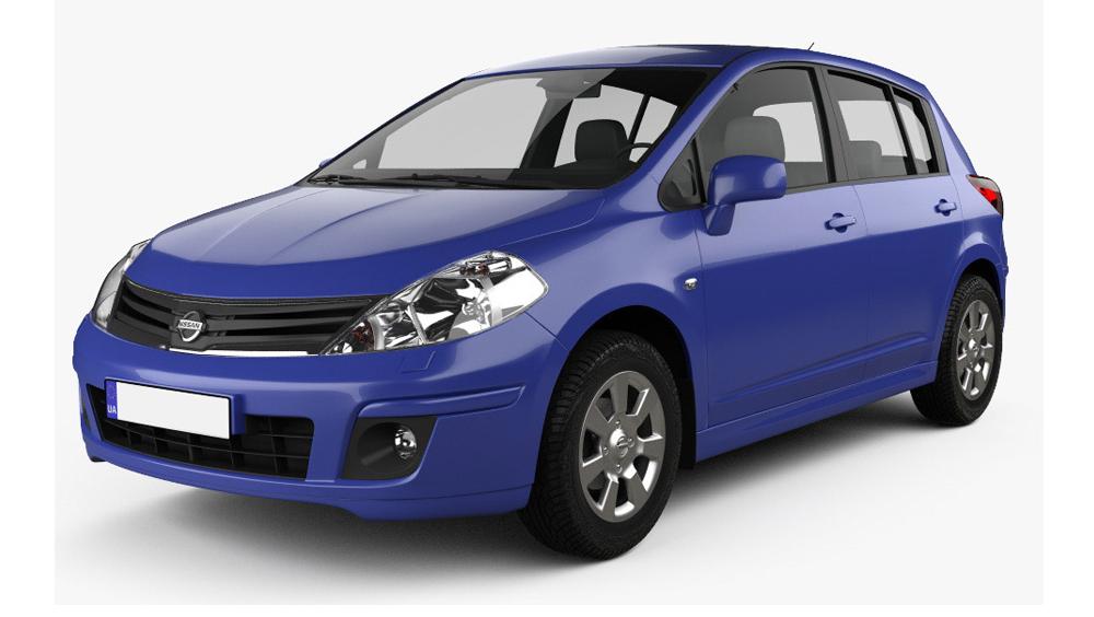 Redukční rámečky k autorádiím pro Nissan Tiida