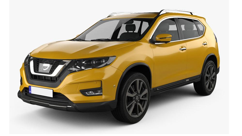 Redukční rámečky k autorádiím pro Nissan X-Trail (T32)