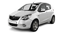 Mdf podložky pod reproduktory do Opel Agila B