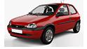 Mdf podložky pod reproduktory do Opel Corsa B