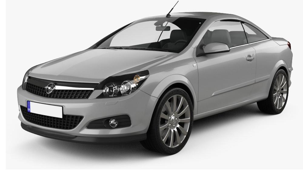 Redukční rámečky k autorádiím pro Opel Astra Twin Pop