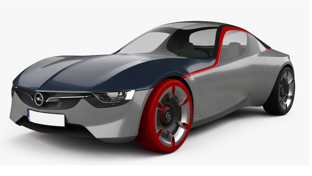 Redukční rámečky k autorádiím pro Opel GT
